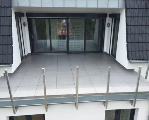 Sanierter Balkon