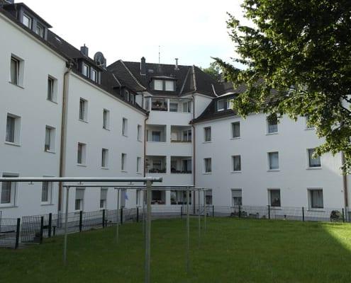 Bauklempnern Mehrfamilienhaus
